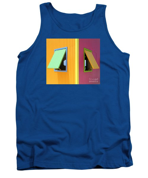 Tank Top featuring the photograph Caribbean Corner 3 by Randall Weidner