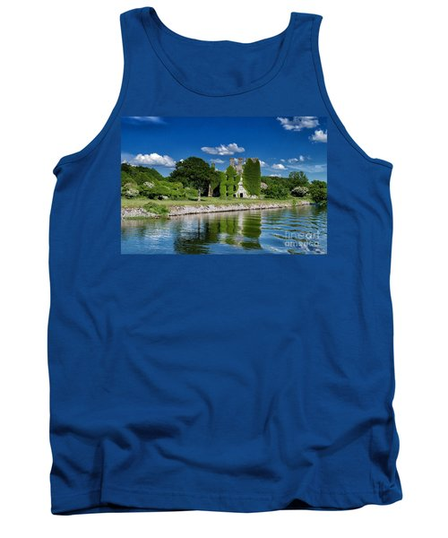 Tank Top featuring the photograph Castle Menlo  by Juergen Klust