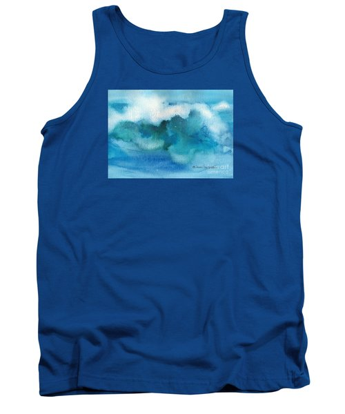 Tank Top featuring the painting Catch The Wave by Joan Hartenstein