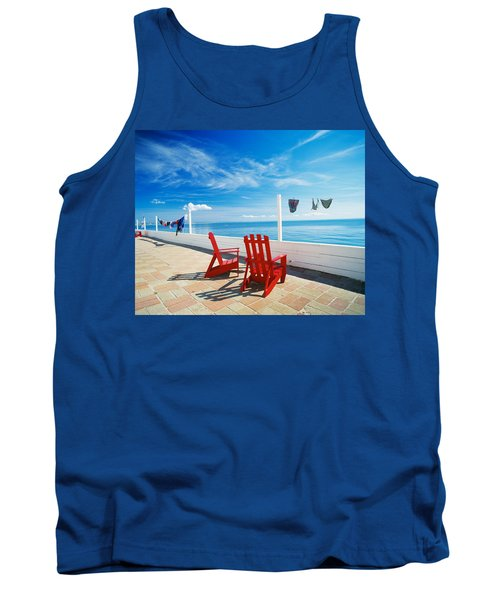 Chairs Cape Cod Ma Tank Top