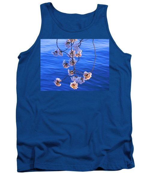 Cherry Blossoms Hanging Over Tidal Basin Tank Top