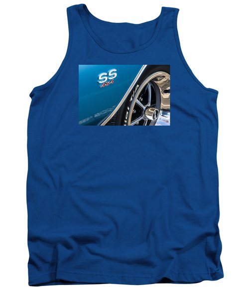 Chevelle Ss 454 Badge Tank Top