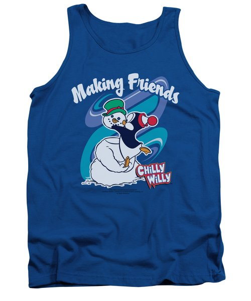 Chilly Willy - Making Friends Tank Top by Brand A