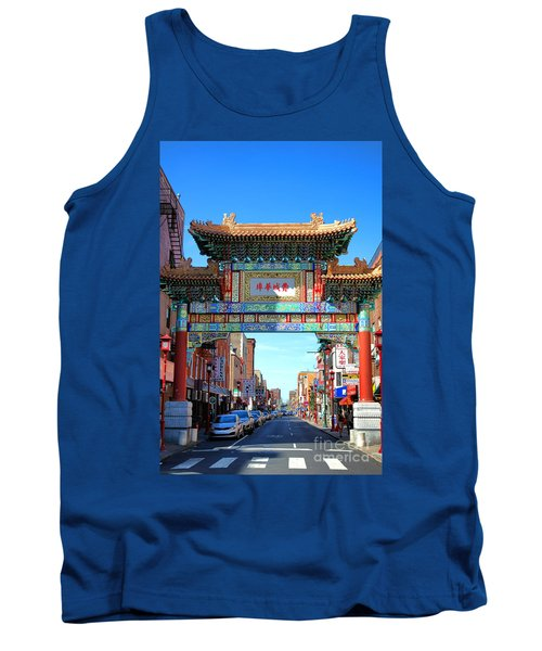 Chinatown Friendship Gate Tank Top