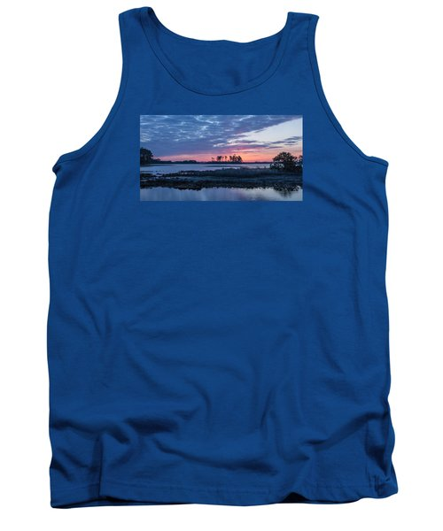 Chincoteague Wildlife Refuge Dawn Tank Top by Photographic Arts And Design Studio