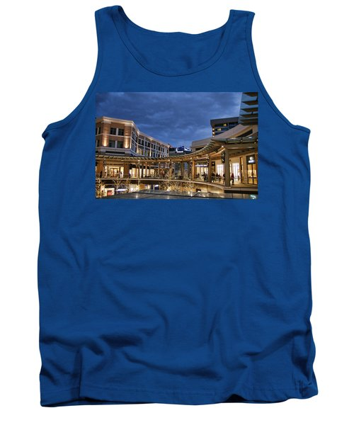 Tank Top featuring the photograph City Creek by Ely Arsha
