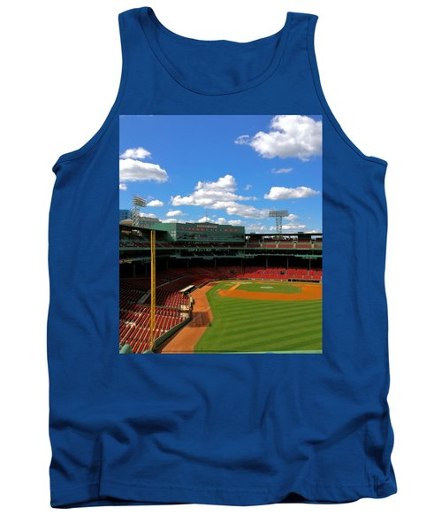 Tank Top featuring the photograph Classic Fenway I  Fenway Park by Iconic Images Art Gallery David Pucciarelli