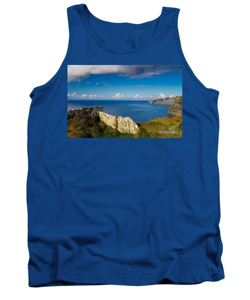 Tank Top featuring the photograph Cliffs Of Moher by Juergen Klust