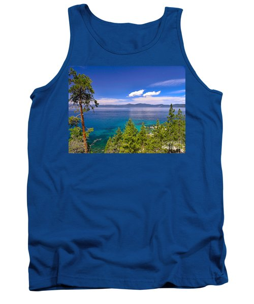 Clouds And Silence - Lake Tahoe Tank Top