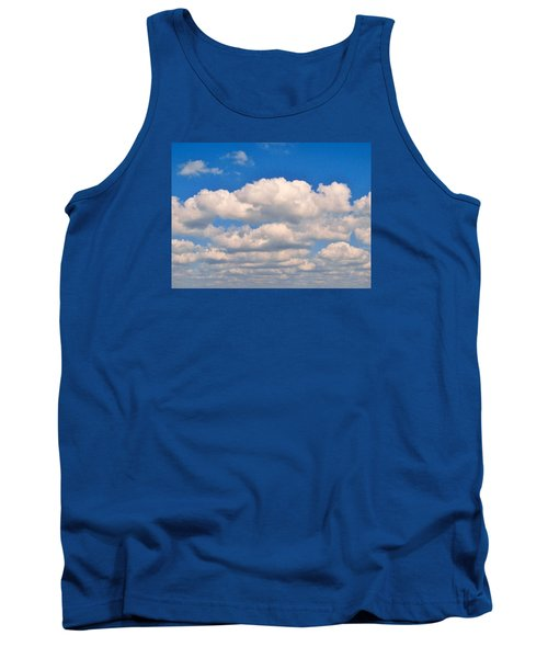 Clouds Over Lake Pontchartrain Tank Top by Deborah Lacoste