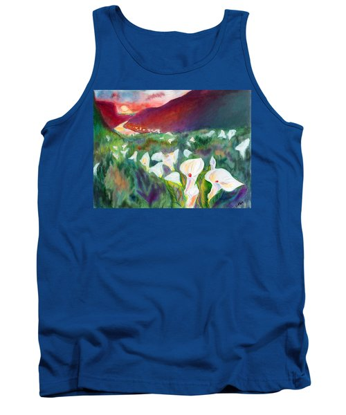 Coastal Callas Tank Top