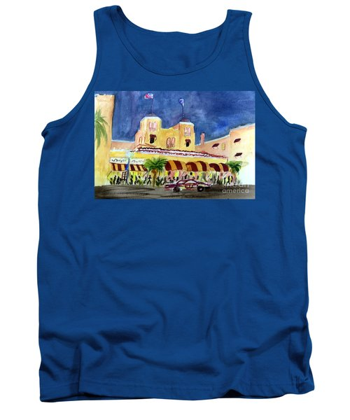 Colony Hotel In Delray Beach Tank Top