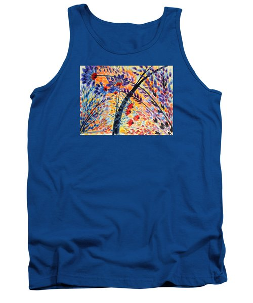 Color Flurry 3 Tank Top by Holly Carmichael