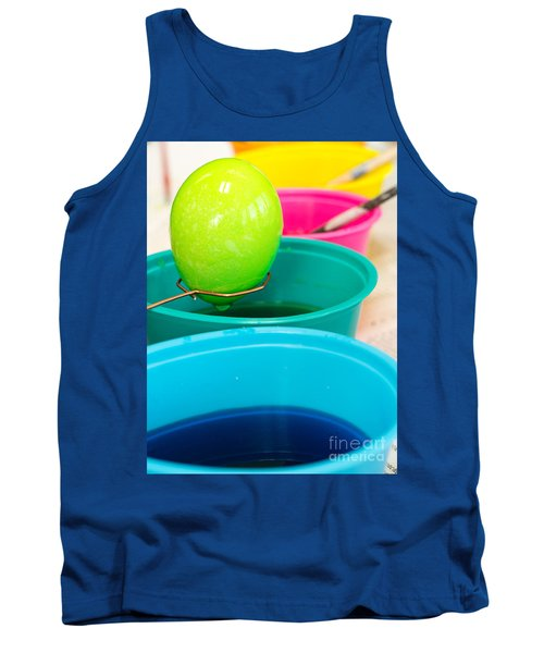 Coloring Easter Eggs Tank Top