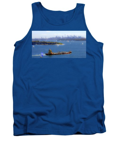 Tank Top featuring the photograph Coming In by Miroslava Jurcik