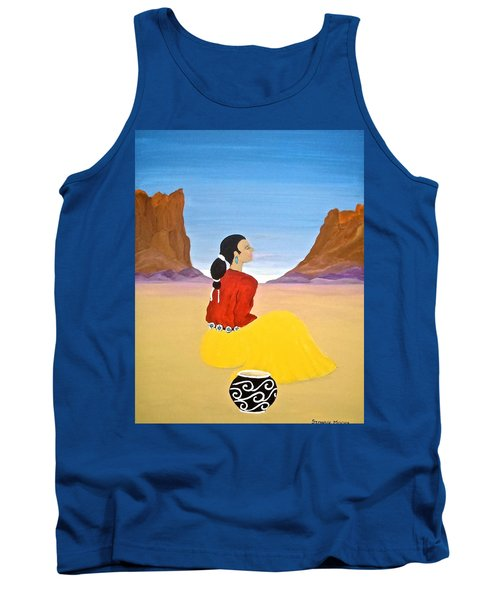 Contemplation Tank Top by Stephanie Moore