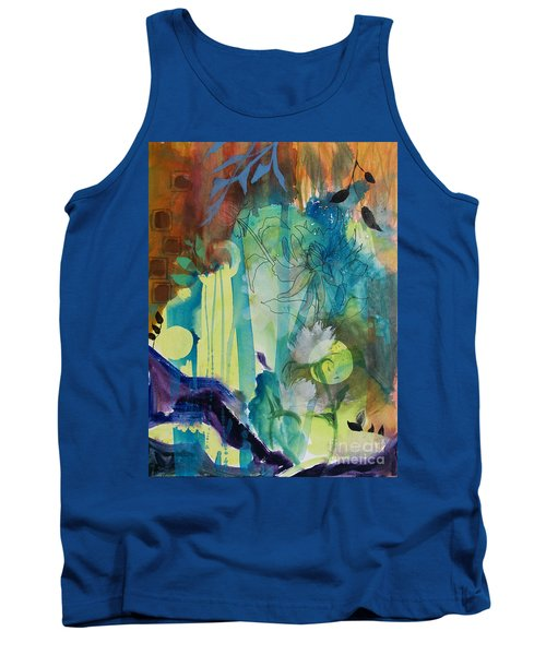 Tank Top featuring the painting Continuum by Robin Maria Pedrero