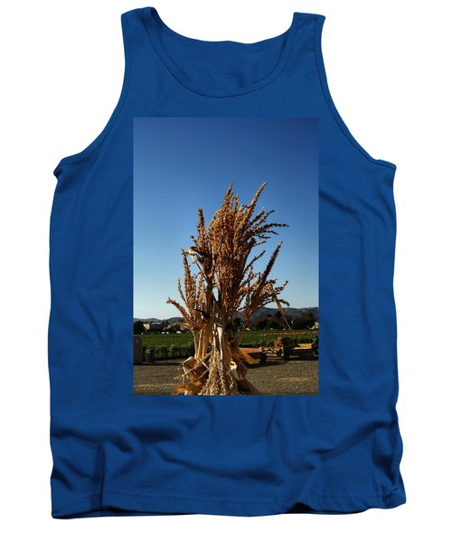 Tank Top featuring the photograph Corn Top by Michael Gordon