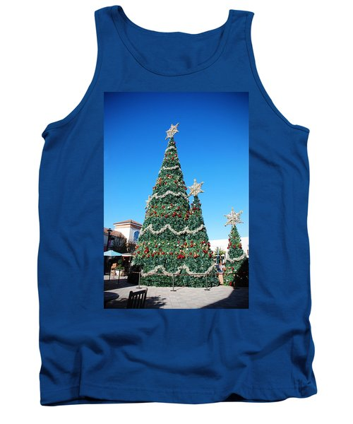 Courtyard Christmas Tank Top
