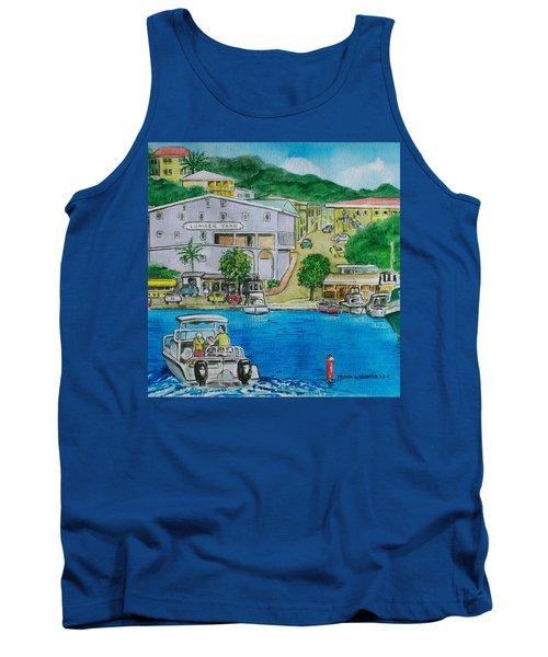 Cruz Bay St. Johns Virgin Islands Tank Top