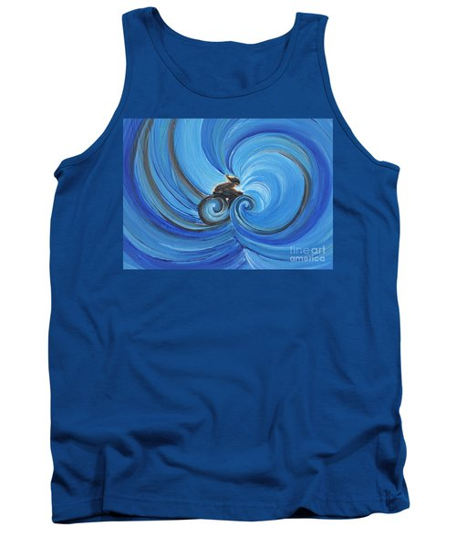 Cycle By Jrr Tank Top by First Star Art