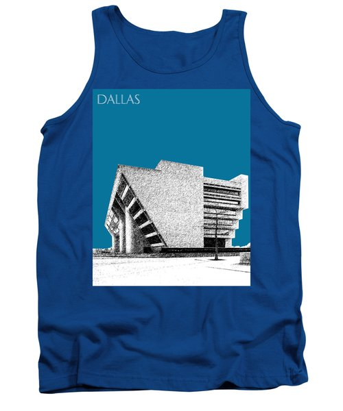 Dallas Skyline City Hall - Steel Tank Top