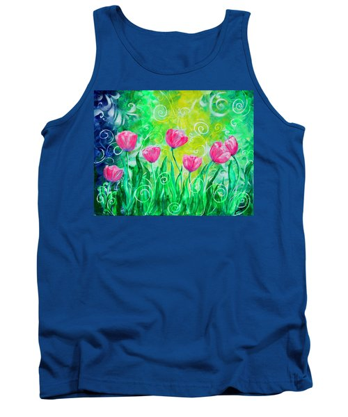 Dancing Tulips Tank Top