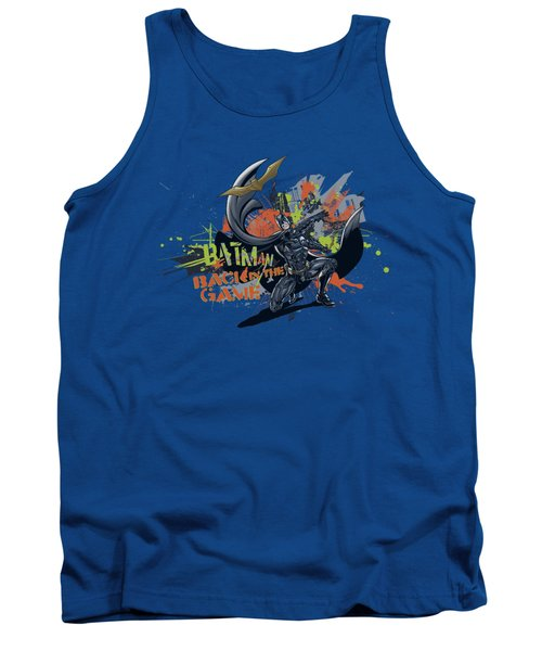 Dark Knight Rises - Back In The Game Tank Top
