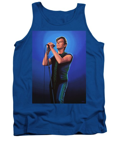 David Bowie 2 Painting Tank Top