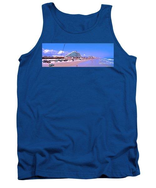 Tank Top featuring the photograph Daytona Main Street Pier And Beach  by Tom Jelen
