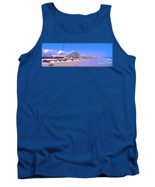 Daytona Main Street Pier And Beach  Tank Top