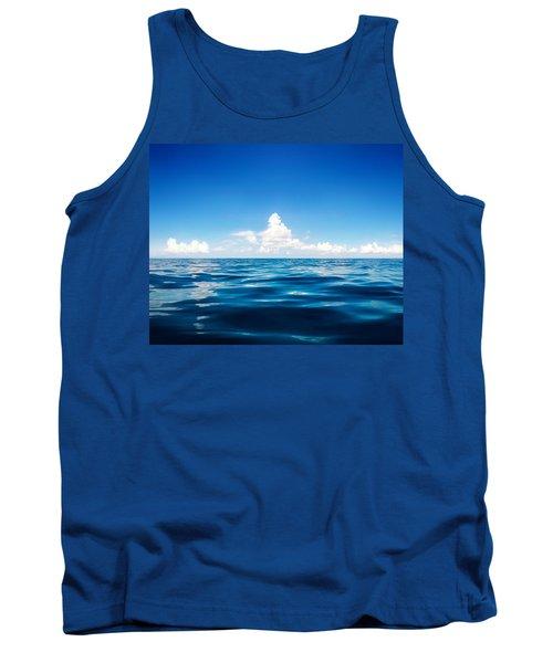 Deep Blue Tank Top