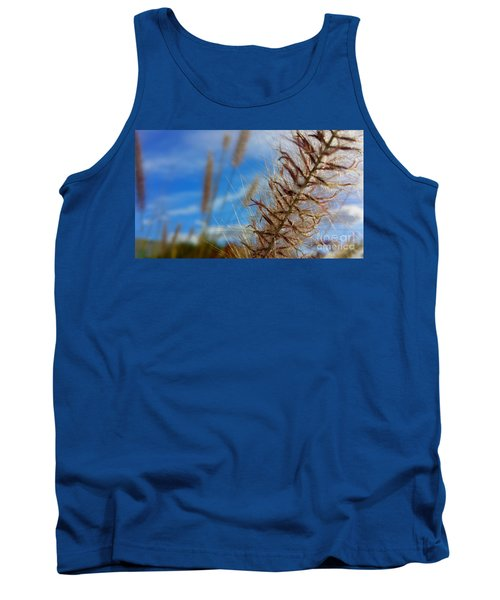 Tank Top featuring the photograph Desert Foliage by Chris Tarpening