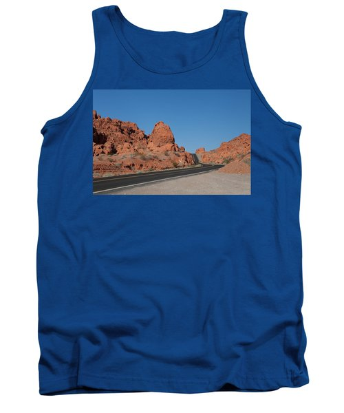 Desert Rock Formations Tank Top