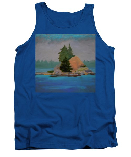 Tank Top featuring the painting Pork Of Junk by Francine Frank