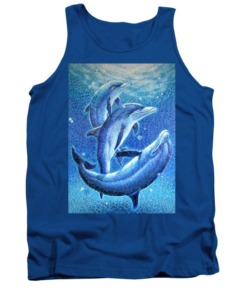 Dolphin Trio Tank Top