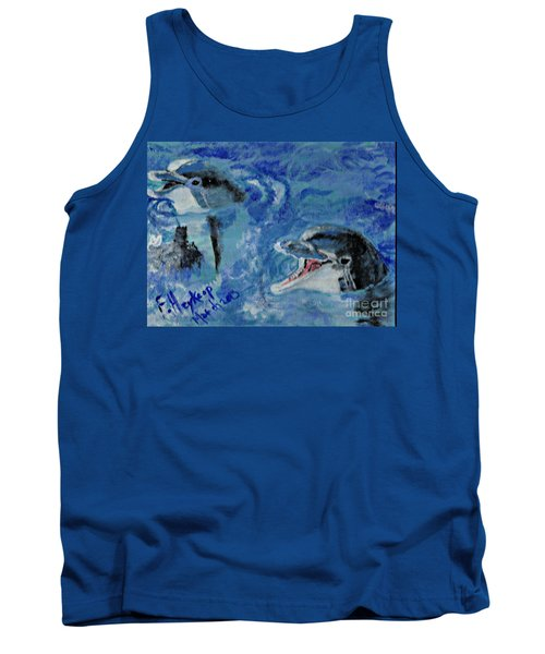 Dolphins Tank Top