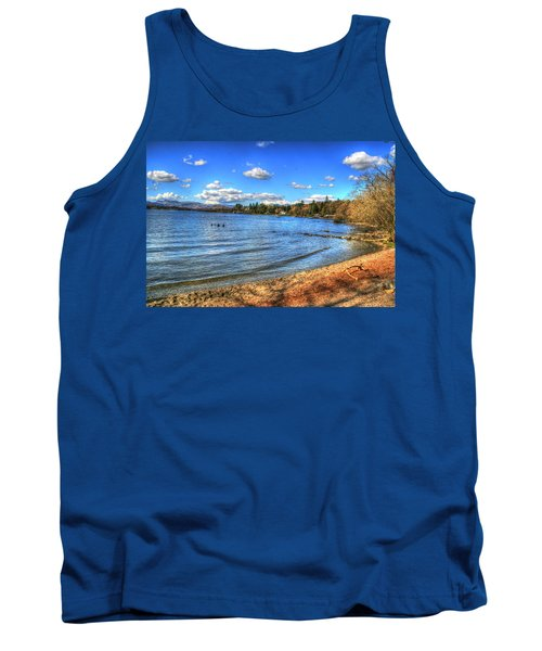 Tank Top featuring the photograph Down By The Riverside by Doc Braham