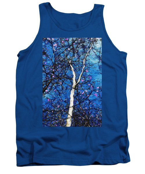 Tank Top featuring the digital art Dreaming Of Spring by David Lane