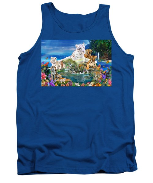 Dreaming Of Tigers  Variation  Tank Top
