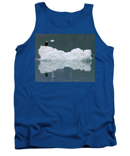 Eagle On Ice Tank Top by Shoal Hollingsworth