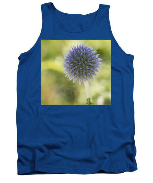 Echinops Blue Tank Top
