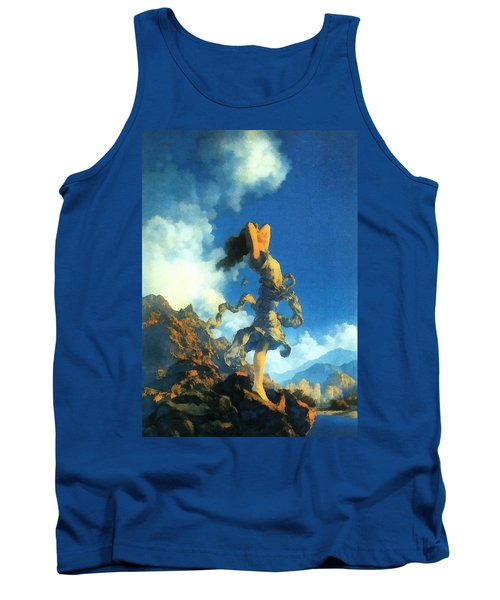 Ecstasy Tank Top by Maxfield Parrish