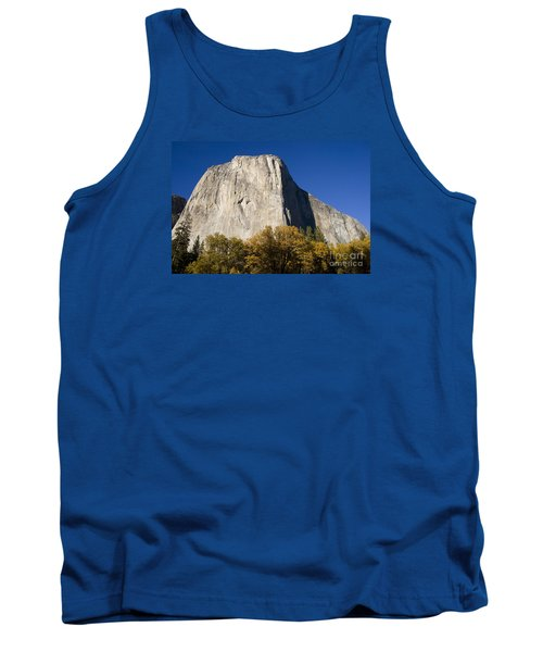 Tank Top featuring the photograph El Capitan In Yosemite National Park by David Millenheft