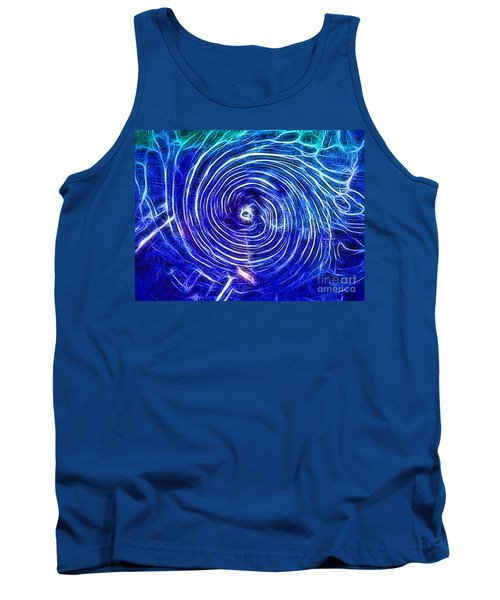 Electric Glass Light 4 Tank Top by Todd Breitling