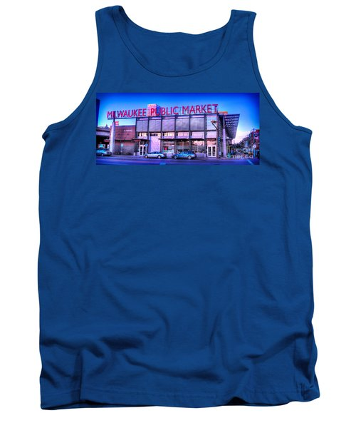 Evening Milwaukee Public Market Tank Top