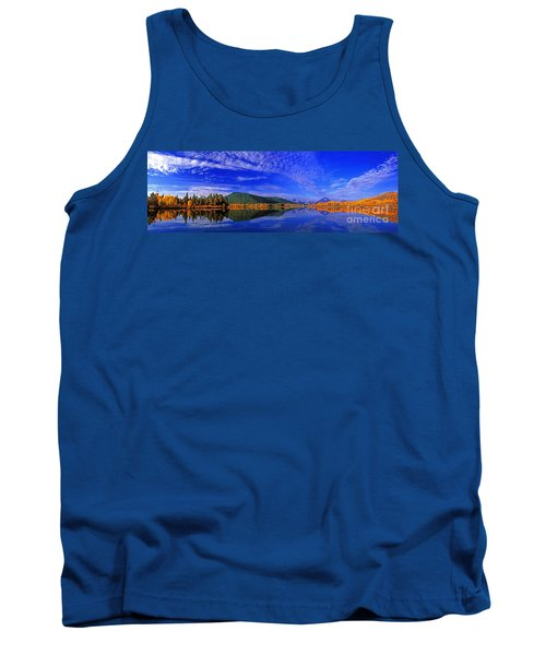 Tank Top featuring the photograph Fall Color Oxbow Bend Grand Tetons National Park Wyoming by Dave Welling