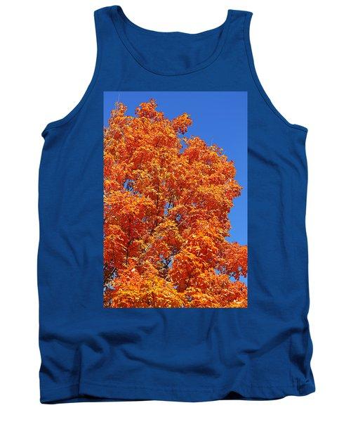 Fall Foliage Colors 18 Tank Top