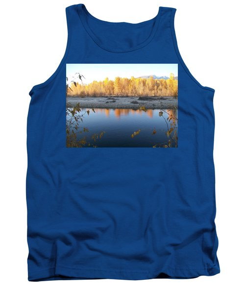 Tank Top featuring the photograph Fall Reflection 2 by Jewel Hengen