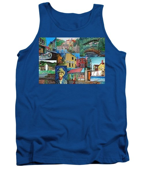 Fantacy Collage Tank Top